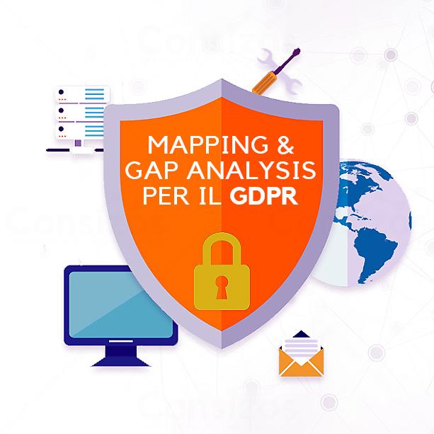 mapping gap risk vulnerability GDPR